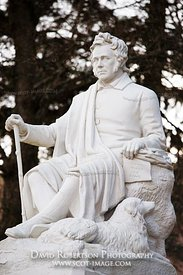 Image - Statue of James Hogg, the Ettrick Shepherd