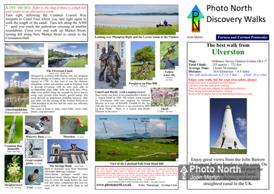 Ulverston walk - Two page PDF file