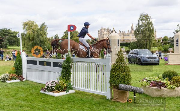 Tim Price and BANGO - Cross Country - Land Rover Burghley Horse Trials 2019