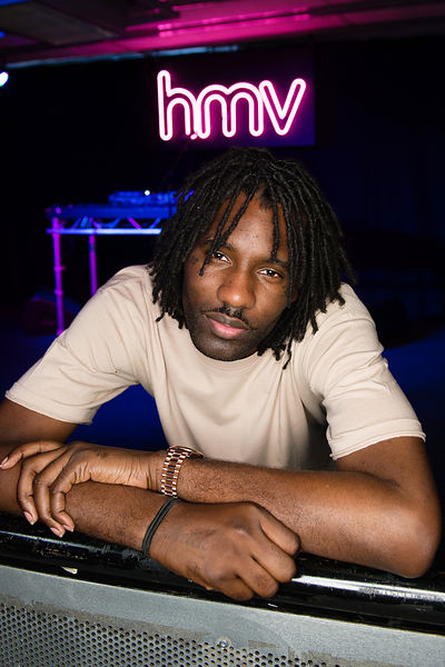 Wretch 32 .aka Jermaine Sinclair.promotes his new album 'Growing Over Life'.