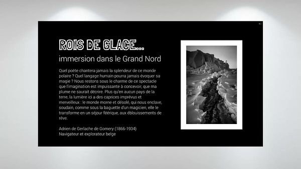 ROIS DE GLACE... immersion dans le Grand Nord