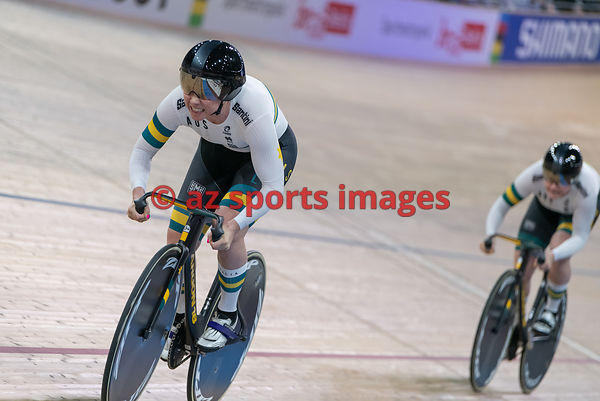 Women 's Team Sprint finals - Australia - MCCULLOCH Kaarle, MORTON Stephanie