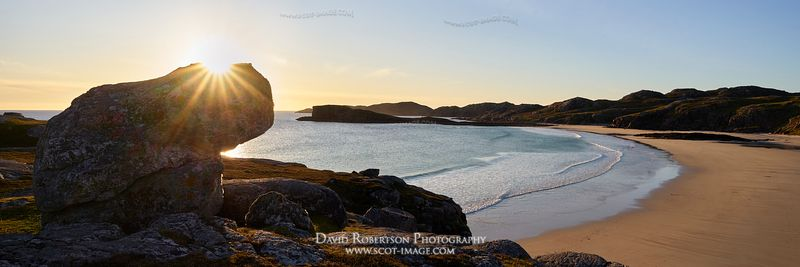 Image - Oldshoremore bay near Kinlochbervie, Sutherland, Highland, Scotland.  Panoramic