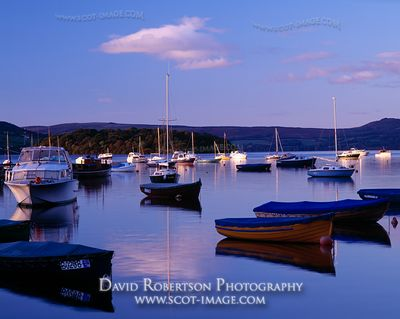Image - Balmaha boatyard on Loch Lomond,, Scotland