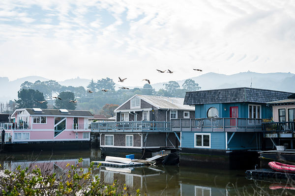 Sausalito, Californie, USA.