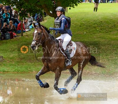Andrea Baxter and INDY 500 - Cross Country - Land Rover Burghley Horse Trials 2019