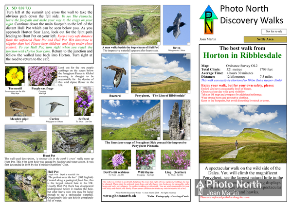 Horton-in-Ribblesdale walk download - Two page pdf file