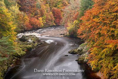 Prints & Stock Image - The River Findhorn, near Relugas, Moray, Scotland