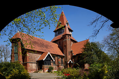 St Anne's Church Haughton, Denton