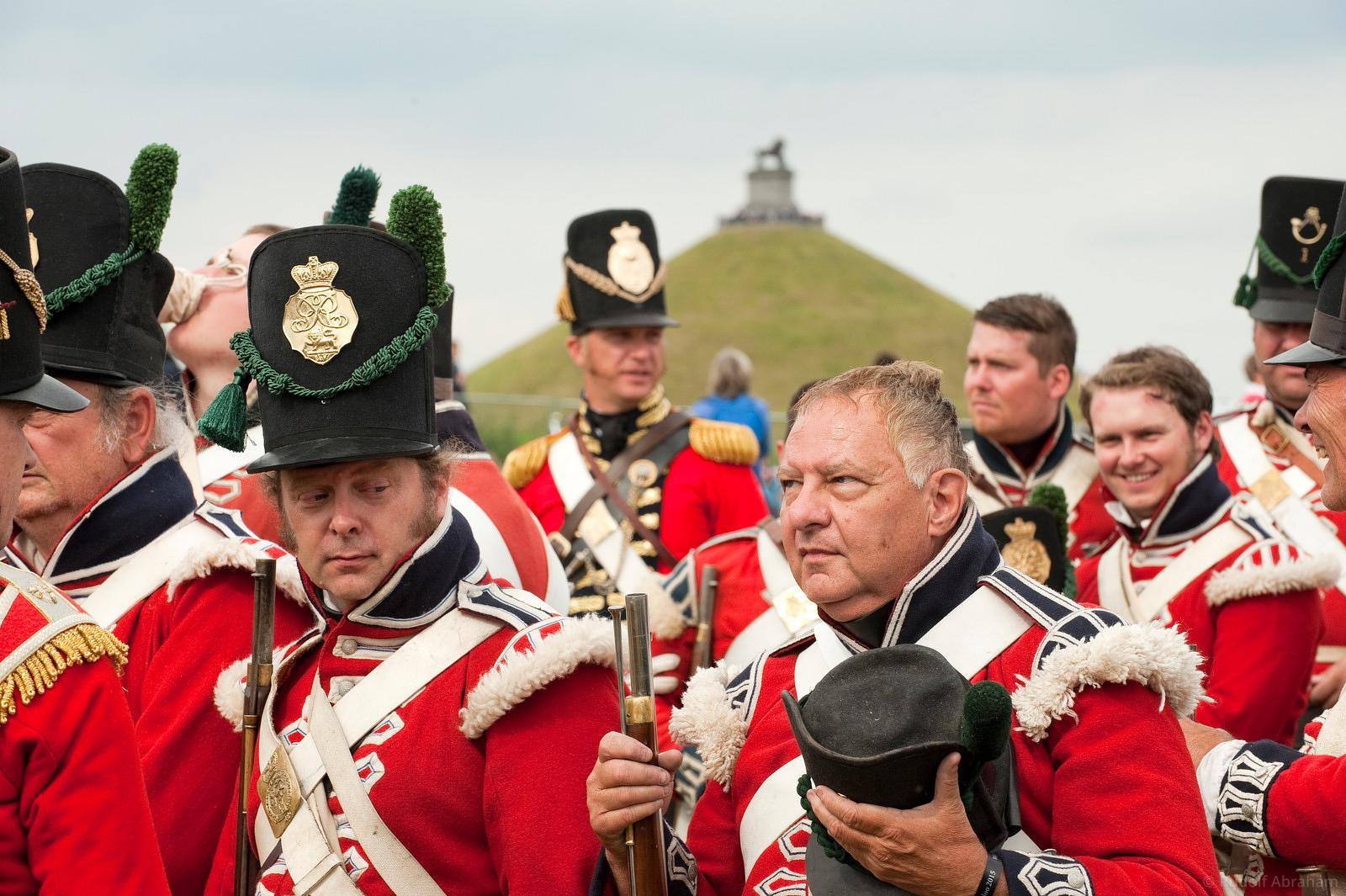 Waterloo 200th reenactment, Belgium