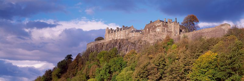 Image - Stirling Castle Panoramic, Scotland
