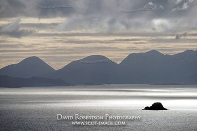 Image - Sound of Raasay and Red Cuillin, Isle of Skye, Scotland