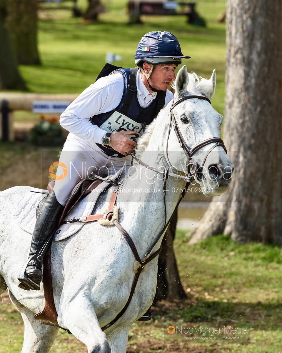 Alberto Giugni (ITA) and MISCHIEVOUS, Belton Horse Trials 2019