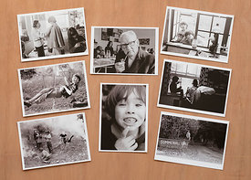 Summerhill, set of 8 postcards