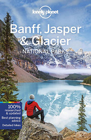 cover lonely planet banff jasper glacier guidebook 2020