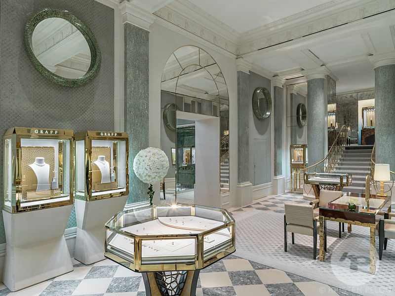 Architecture Photographer - Graff Diamonds boutique, Ritz hotel, Place Vendome, Paris, France. Photo ©Kristen Pelou