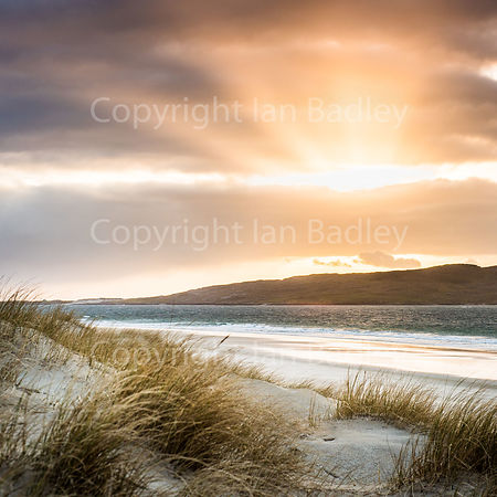 Diffused sun on the Isle of Harris