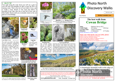 Cowan Bridge walk download - Two page PDF file