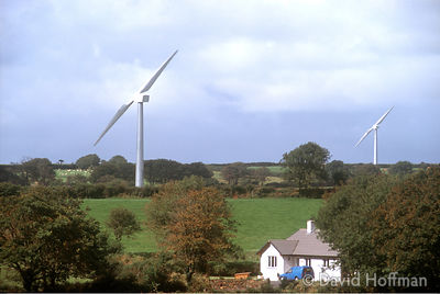 Turbines Close To House