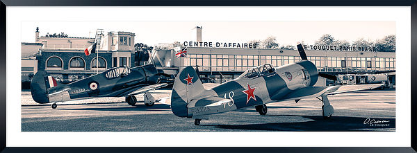 Commonwealth Aircraft Corporation CA-13 Boomerang - A46-139/N32CS  and Yakovlev Yak-3 U-PW - 003/F-AZZK © 2019 Olivier Caenen...