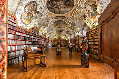 Strahov Library, Prague, Theological room (1727)