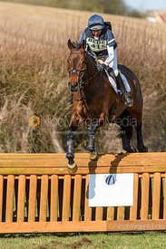 Louise Harwood and TREVILLICK. Oasby (1) Horse Trials 2020