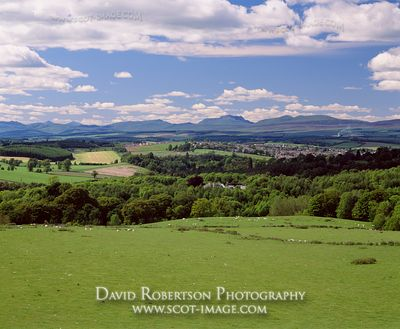 Image - Countryside and fields near Dunblane, Stirling