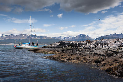 Cruising the Waters of Beagle Channel - Argentina 2012
