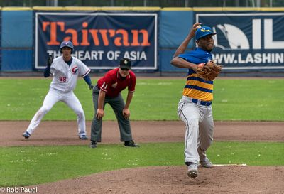 Honkbal Taiwan vs Curacao