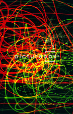 Abstract light movement background.