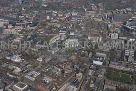 Liverpool area surrounding the Catholic Cathedral and St John Moore Science Park