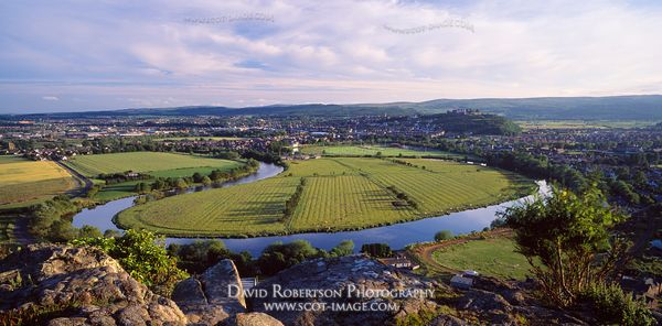 Image - View of Stirling City, River Forth, Scotland