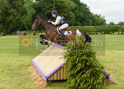 Grace Taylor and JACK IN THE BOX III - Aston Le Walls Horse Trials 2019.