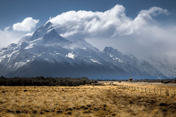 Smoking Mt Cook