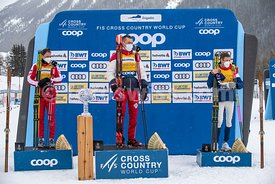 50 Km Men Pursuit Free FIS Cross Country World Cup Engadin 2021