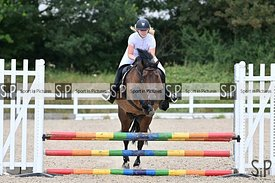Unaffiliated showjumping. Brook Farm Training Centre. Essex. UK. 06/07/2019. ~ MANDATORY Credit Garry Bowden/Sportinpictures ...