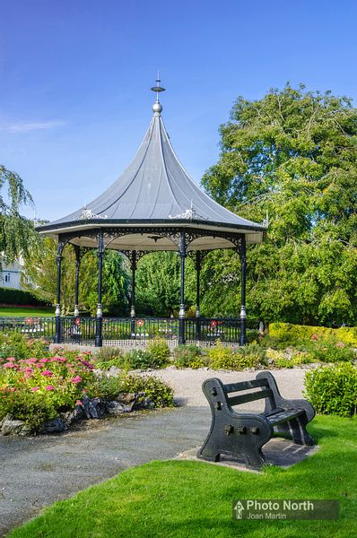 GRANGE OVER SANDS 18A - The Bandstand in Park Road Gardens