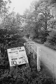 #120026,  Lane leading to Ladywell Convent, Godalming, the Motherhouse of an International Catholic Religious Congregation – ...