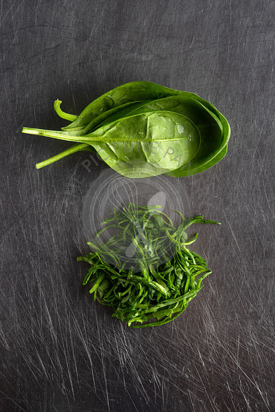 Baby Spinach, whole & cut
