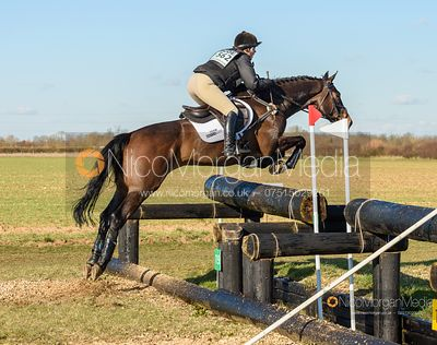Hazel Towers and SIMPLY CLOVER. Oasby (1) Horse Trials 2020