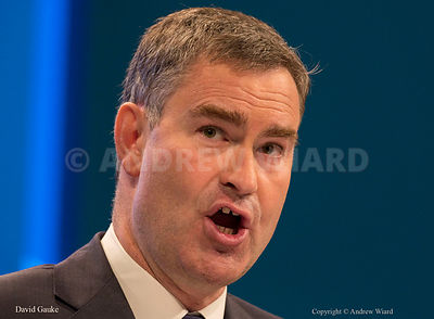 England, UK . 2.10.2017. Manchester . Conservative Party Conference, Monday. David Gauke.