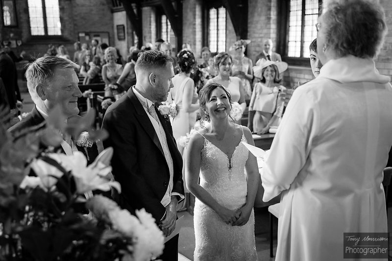 Wedding at St Chads Church, Hopwas and The Old School House Weeford