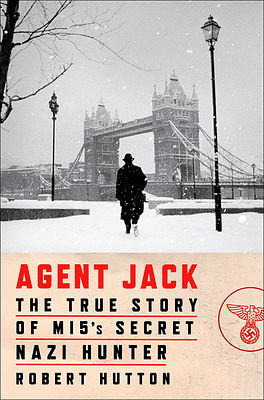 Book cover for Robert Hutton's new thriller 'Agent Jack'.