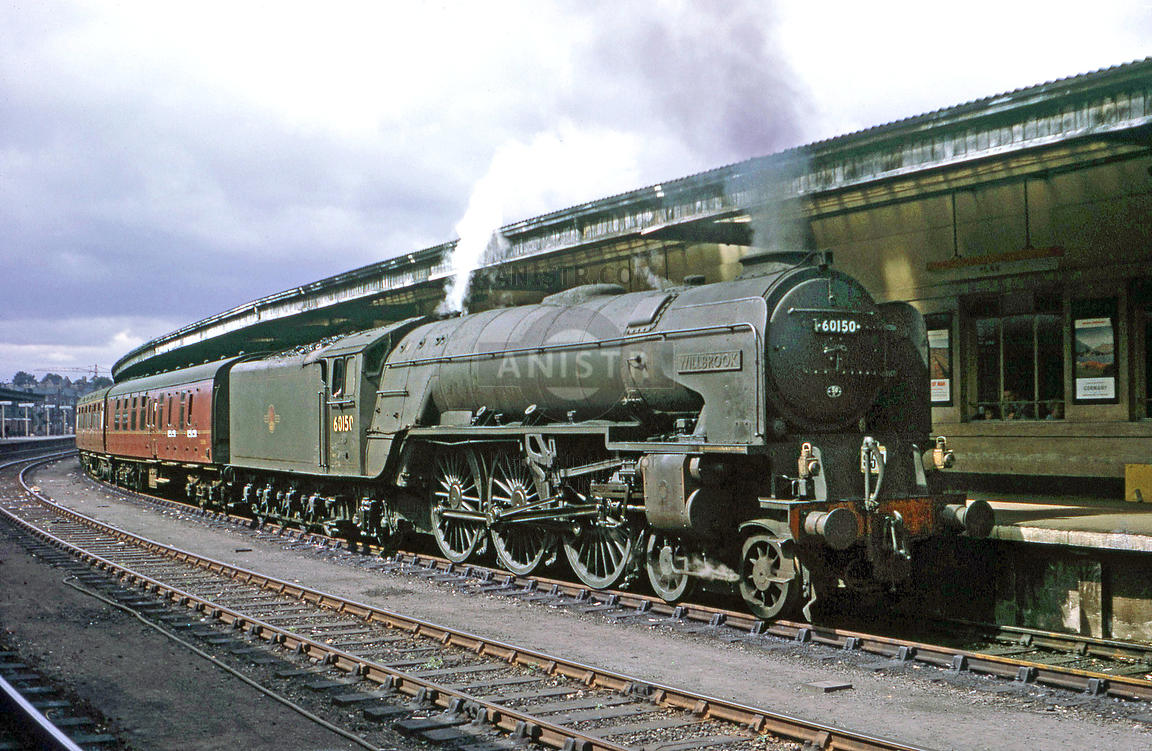 Steam loco A1 60150 York