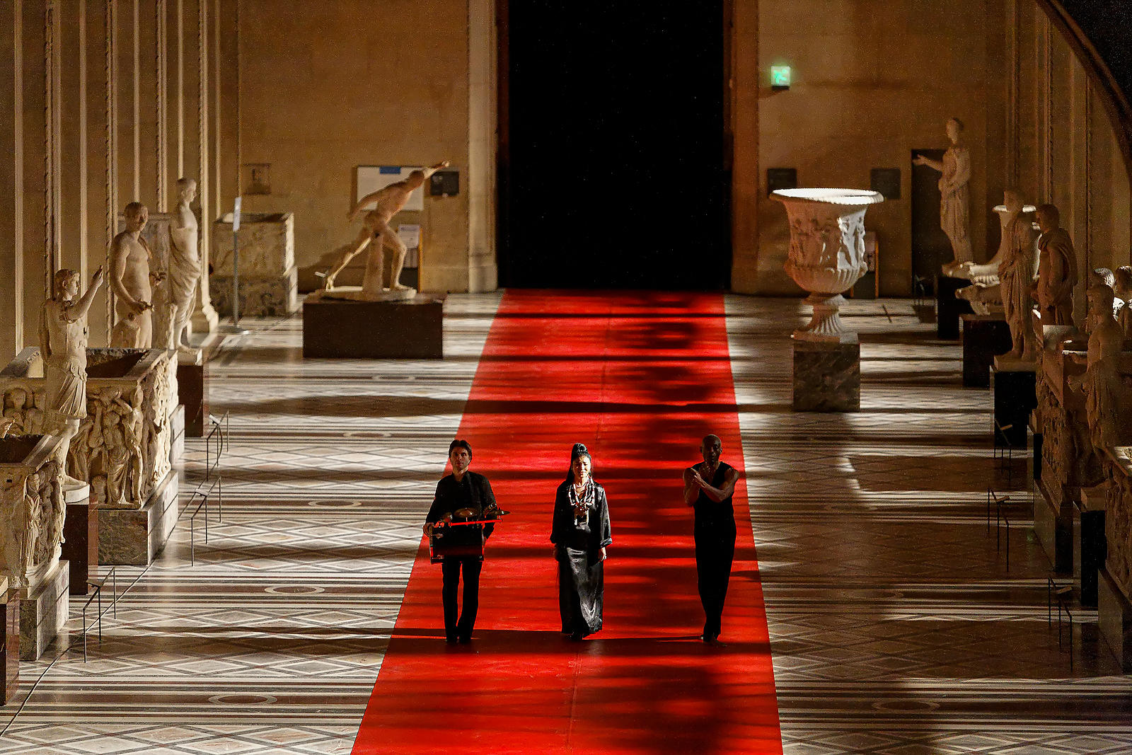 Walking the line - Bill T. Jones - Musée du Louvre