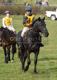 Clare Bell. The Melton Hunt Club Ride 17/2