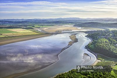 ARNSIDE 10C - Aerial view of Arnside and the Kent Estuary