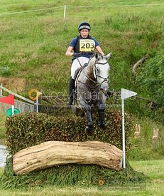 Katie Bleloch and GOLDLOOK - Upton House Horse Trials 2019.