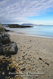 Image - Isle of Rum from a beach near Arisaig, Morar, Scotland.