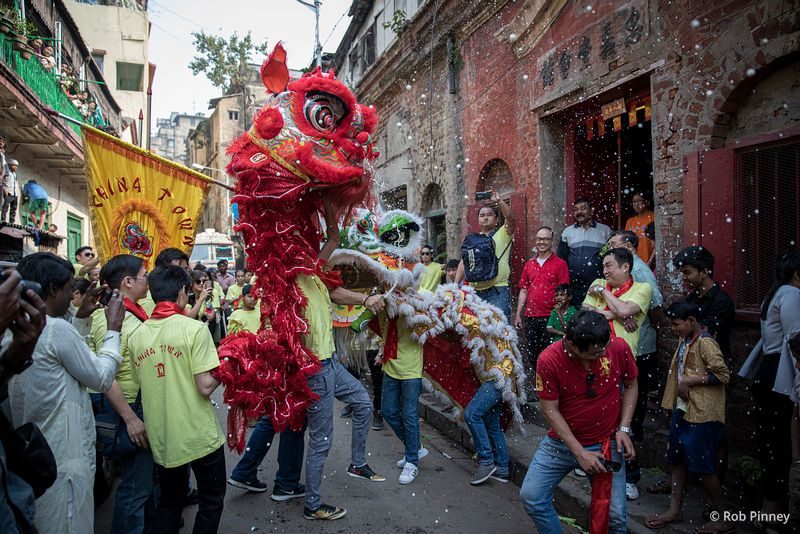 Tiretta Bazaar, Kolkata – Chinese New Year
